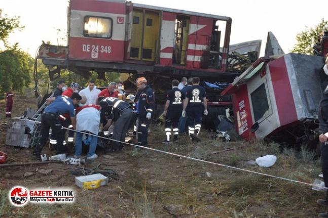 İki yük treni kafa kafaya çarpıştı: Kayıp makinist...