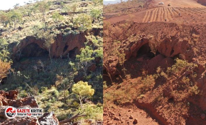 İnsanlığın 46 bin yıllık mirasını havaya uçuran madencilik devi:Üzgünüz