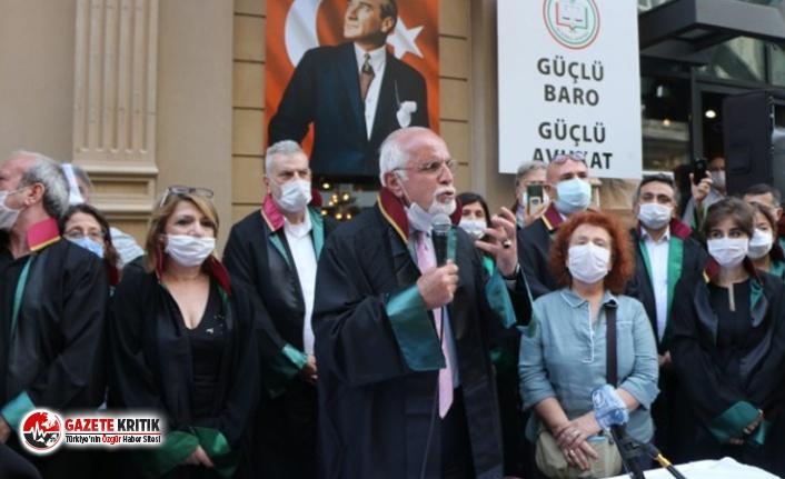 İstanbul Barosu Başkanı Durakoğlu: Baroları sindiririz...