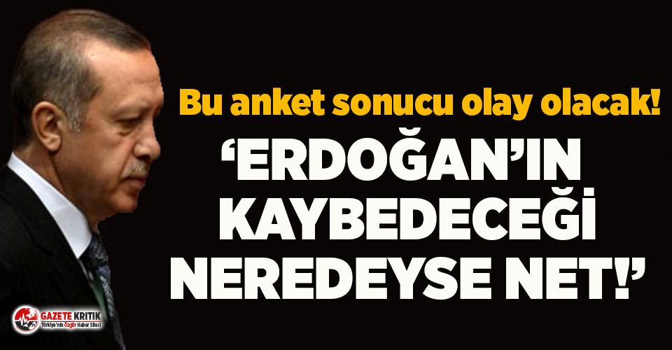 İşte son seçim anketinde Erdoğan'ın oy oranı!