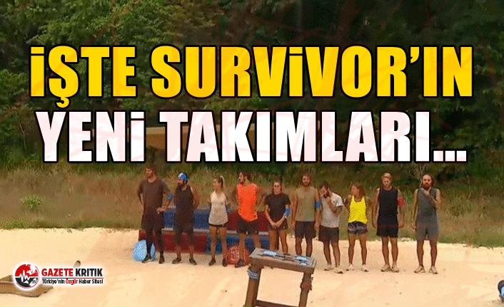 İşte Survivor'ın yeni takımları…