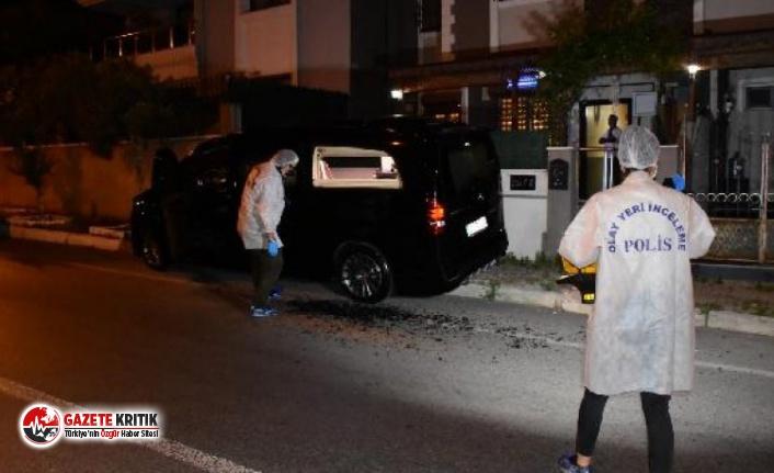 İzmir'de İHF Başkanı'nın aracına silahlı...