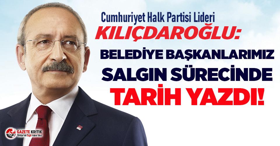 Kemal Kılıçdaroğlu: Belediye başkanlarımız...