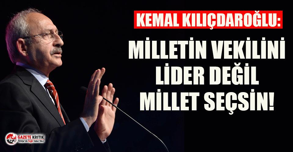 Kılıçdaroğlu'ndan kurmaylarına 'siyasi...