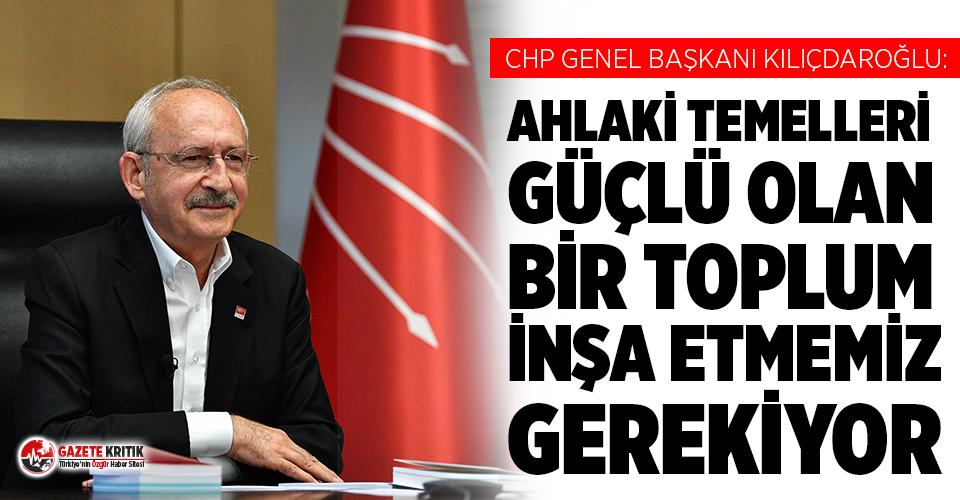 Kılıçdaroğlu: Siyaset, toplumun hassas duyguları...