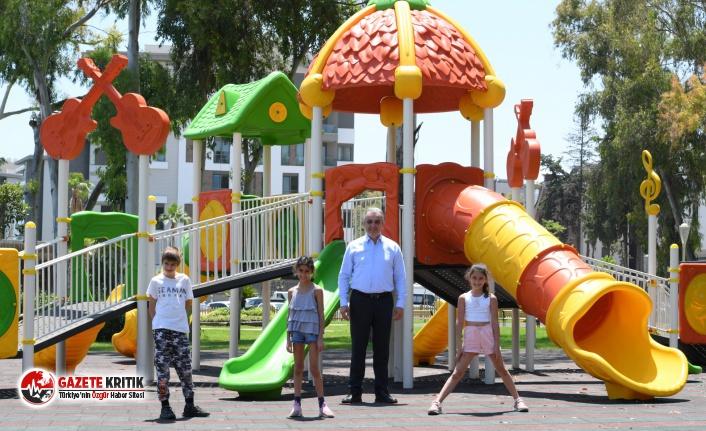 Konyaaltı'na 1 yılda 17 park kazandırıldı