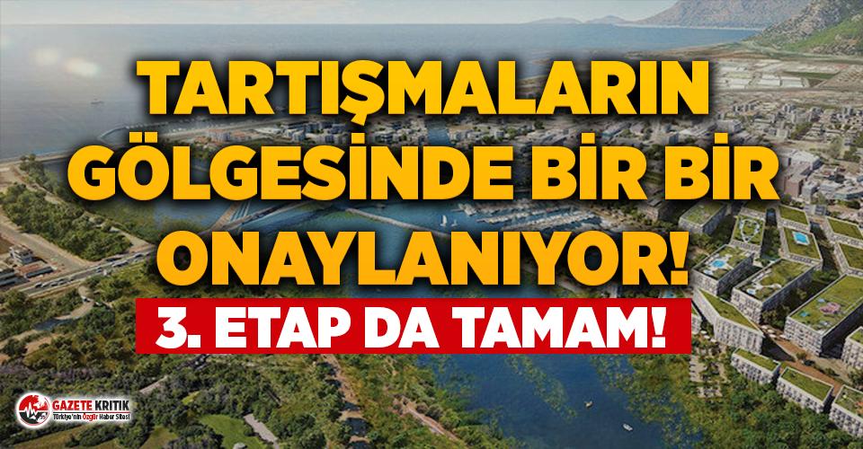Maskeli ihalenin ardından, tartışmalı Kanal İstanbul'da...