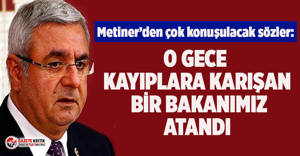 Mehmet Metiner'den AKP'yi karıştıracak...
