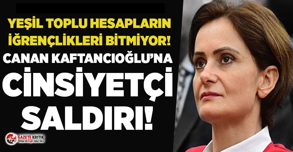Memur-Sen'in yetkili isminden Canan Kaftancıoğlu'na cinsiyetçi saldırı!