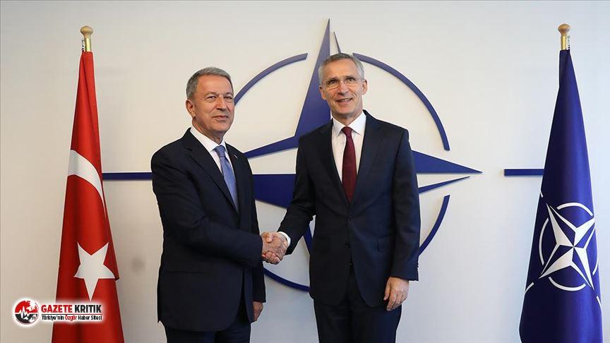 Milli Savunma Bakanı Akar, NATO Genel Sekreteri Stoltenberg...