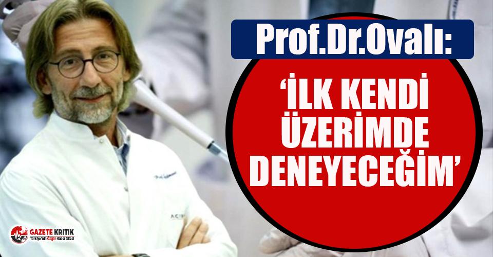 Prof. Dr. Ercüment Ovalı tarihi verdi: Koronavirüs...