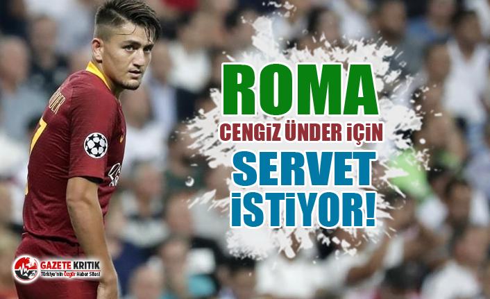 Roma Cengiz Ünder için servet istiyor!