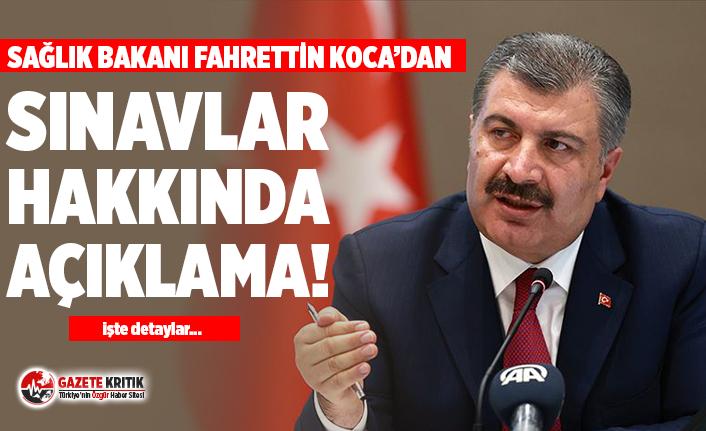 Sağlık Bakanı Fahrettin Koca: Her türlü tedbir alınması için rehber yayınlandı