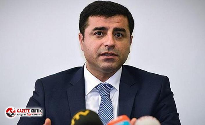 Selahattin Demirtaş: HDP'nin ittifak çağrısı...
