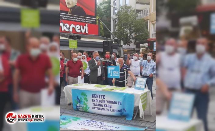 CHP'li Tacettin Bayır:Doğamıza,toprağımıza,havamıza,suyumuza sahip çıkamadık!