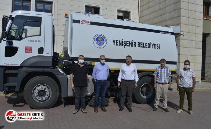 TBB'den Yenişehir Belediyesine temizlik aracı hibesi