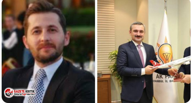 THY'de AKP'li ismin oğluna atama kıyağı!