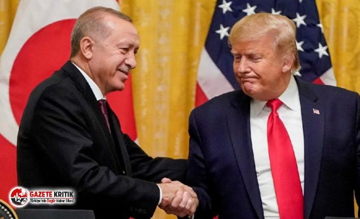 Trump ile Erdoğan'ın telefon görüşmesi basına...