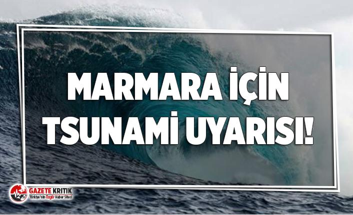 Uzmanından Marmara kıyıları için tsunami uyarısı!