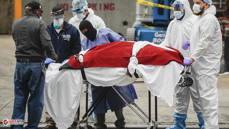ABD'de Koronavirüs'ten hayatını kaybedenlerin...