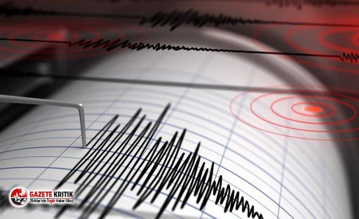 Akdeniz'de 3,5 büyüklüğünde deprem!