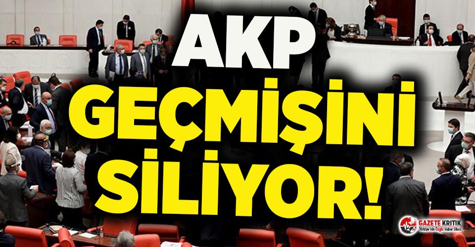 AKP geçmişini siliyor: Türkiye karanlık bir döneme...