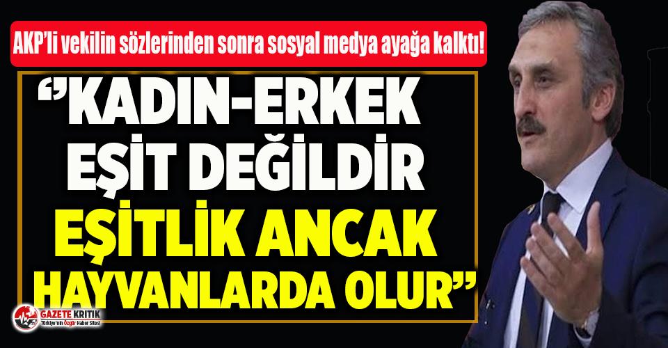 AKP'li Ahmet Hamdi Çamlı'nın sözleri...