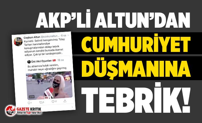 AKP'li başkandan 'Cumhuriyet sömürge...