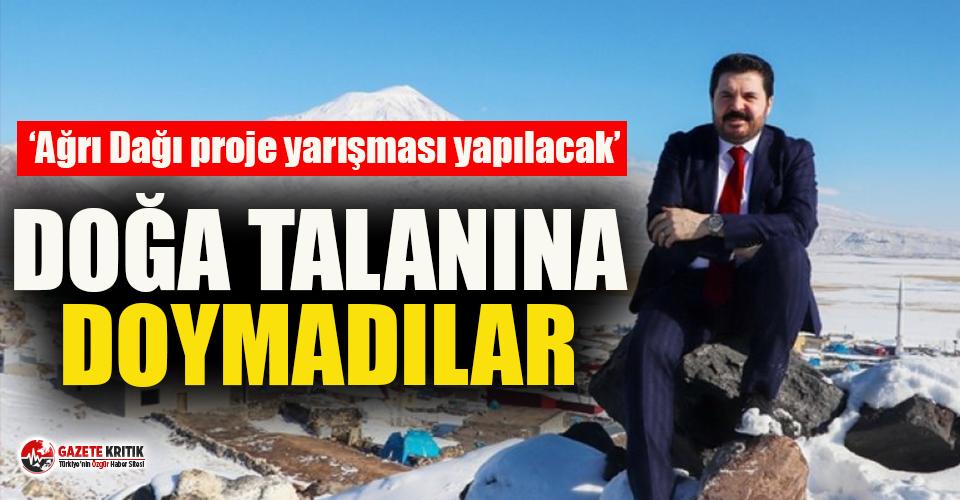 AKP'li belediyede Ağrı Dağı için proje yarışması:...
