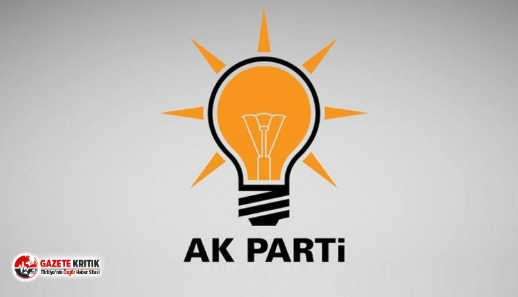 AKP'li ilçe başkanı istifa etti