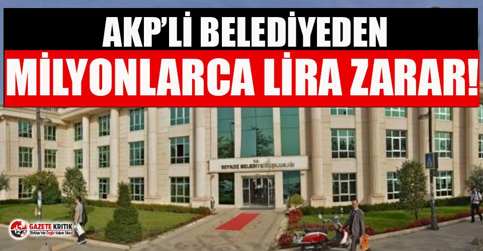 AKP'li belediye, tuvalet temizliğine 3 milyon harcadı