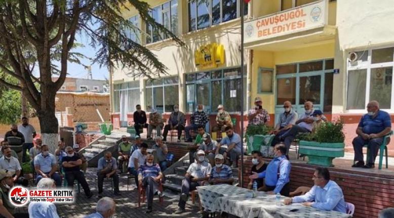 AKP'li vekile kendi köyünde şok tepki: Memlekette...