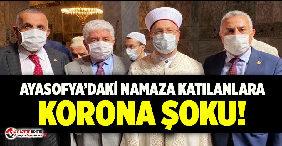 Ayasofya'nın açılışına katılan AKP'li vekil...