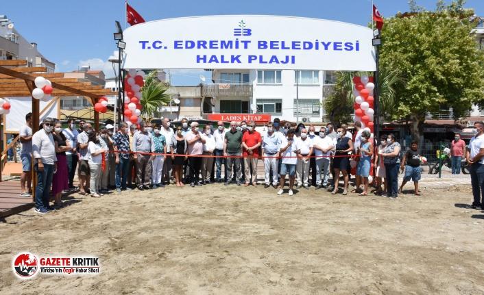 Başkan Arslan, Halk Plajını Yeniden Halka Açtı