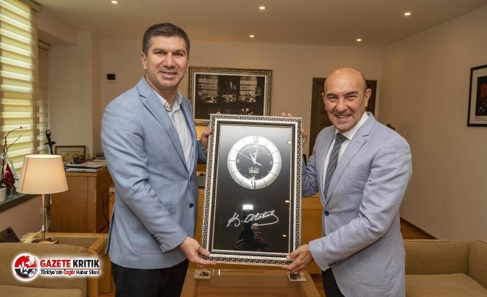 Başkan Ercengiz'den Tunç Soyer'e ziyaret