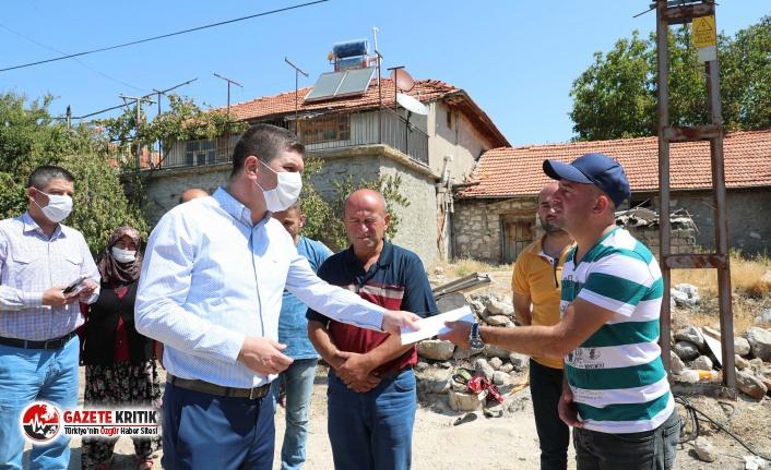 Başkan Ercengiz Derya ve İlhan Aypak'ı çiftini...