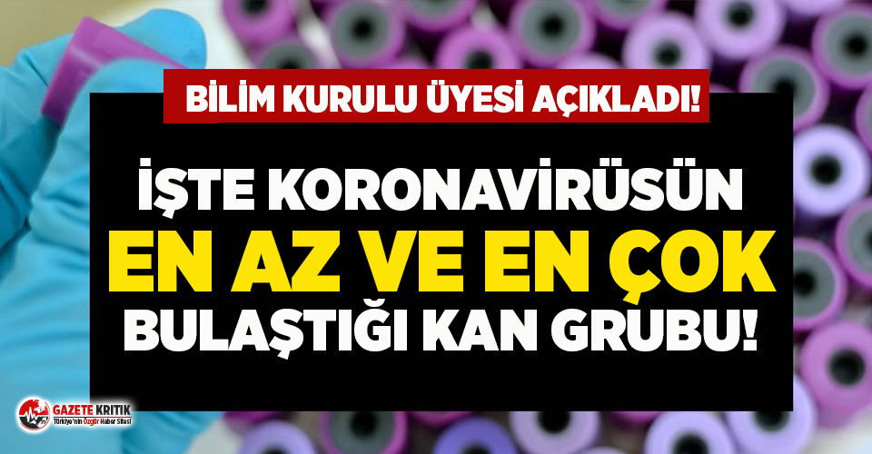 Bilim Kurulu üyesi açıkladı: İşte koronavirüsün...