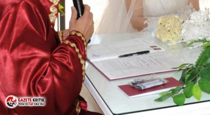 Bir ilçede nikah işlemleri durduruldu!