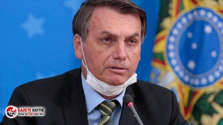 Bolsonaro, kapalı mekanlarda maske kullanılmasını...