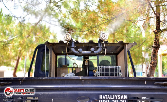 Bornova'da zararlı haşerelere geçit yok