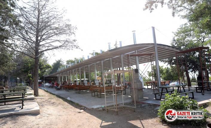 Burdur Belediyesi Halk Plajına düzenleme