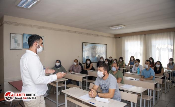 Büyükşehir'in kurs merkezleri yeni dönemin sayfasını açtı