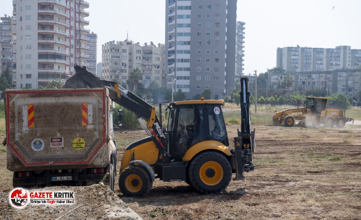 Büyükşehir,Kent Merkezindeki Boş Arazilerde Temizlik Çalışması Başlattı