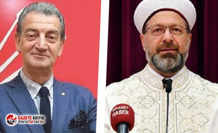 CHP'den Diyanet İşleri Başkanının '86 yıllık ara dönem' sözüne sert tepki: Utanmaz