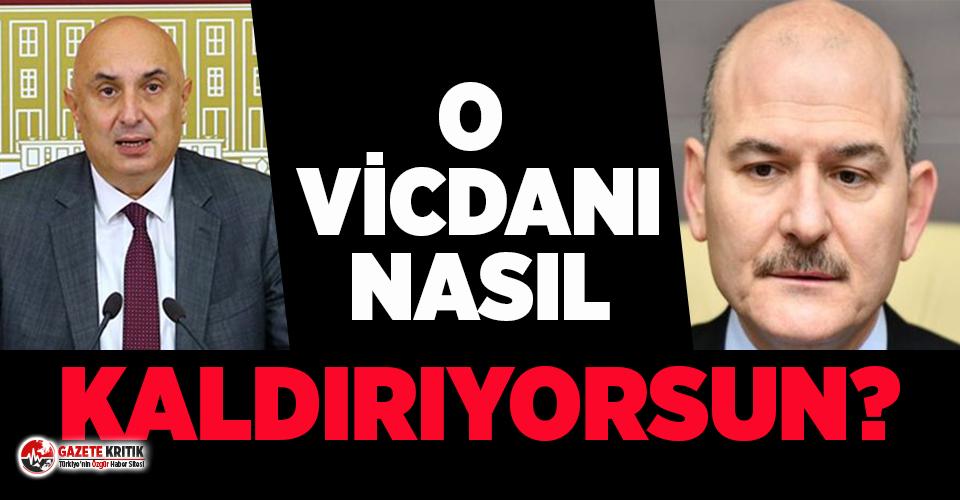 CHP Grup Başkanvekili Engin Özkoç'tan Soylu'ya...