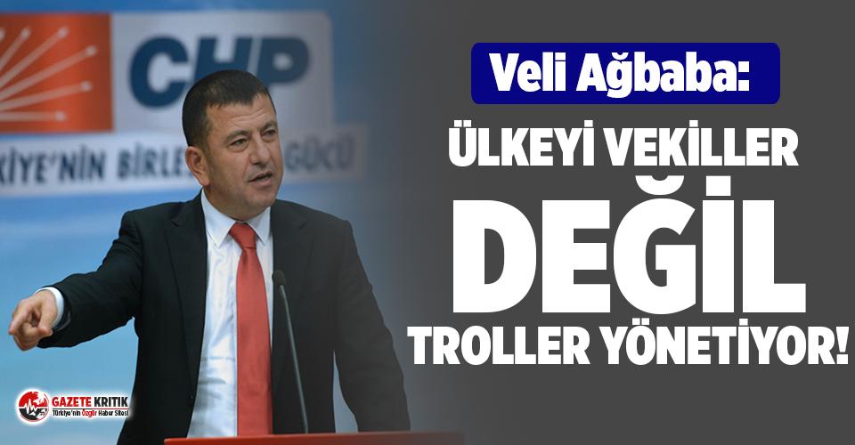 CHP'li Ağbaba'dan iktidara sert eleştiri!