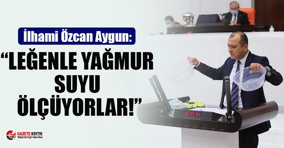 CHP'li Aygun'dan Çorlu Tren Kazası Mahkemesine Leğenli Tepki!