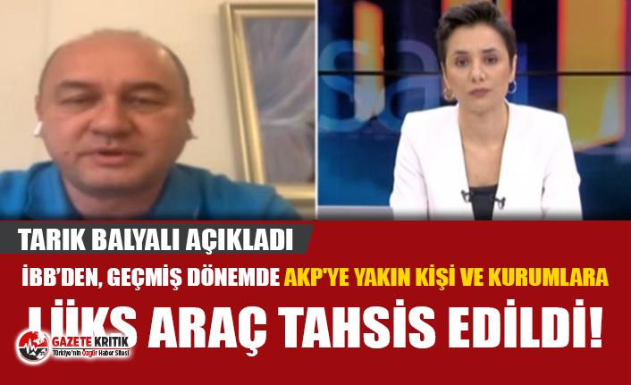CHP'li Balyalı: Lüks araçların kimlere tahsis...