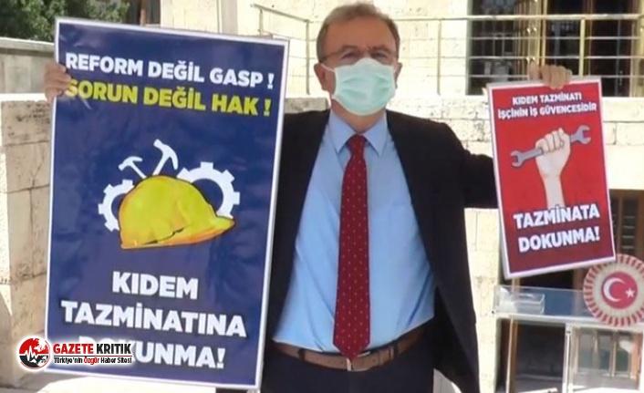 CHP'li Girgin'den TES tepkisi: Kimse işçinin alın terine el uzatmasın