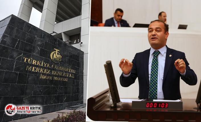 CHP'li Karabat'tan Merkez Bankası hakkında bomba açıklama!